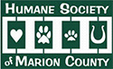 Humane Society of Marion County logo, partner