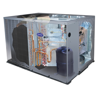 Carrier Comfort Packaged Unit - Heat Pump System